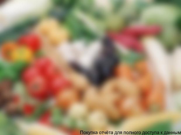 Маркетинговое исследование рынка тепличных овощей закрытого грунта в РФ, 2013 г.