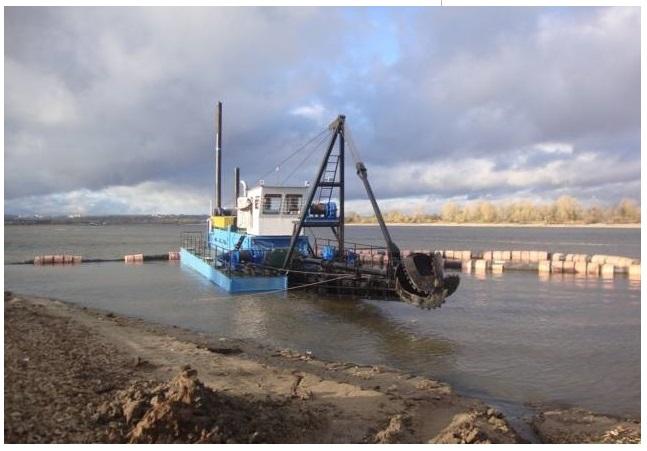 Гидромеханизация на водных объектах